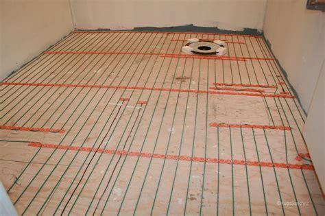 Radiant floors   Céramiques Hugo Sanchez Inc
