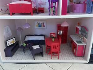 Meuble De Maison : meubles en bois pour maison de barbie ~ Teatrodelosmanantiales.com Idées de Décoration