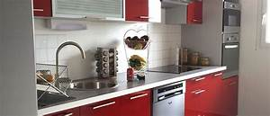 Cuisine En Ligne : cuisine quip e pas cher design compl te ou am nag e easy ~ Melissatoandfro.com Idées de Décoration