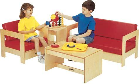 Jonti-craft Living Room Set-sunday School Furniture (red