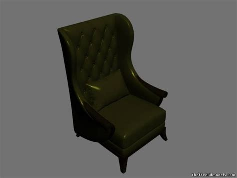 Armchair Free 3d Models Download