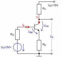 Transistor Als Schalter Berechnen : basisstrom berechnen transistor mit stromgegenkopplung techniker forum ~ Themetempest.com Abrechnung