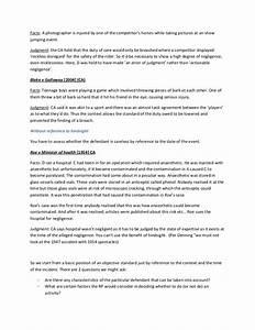 Tort Law Essays 2019-06-30 22:47