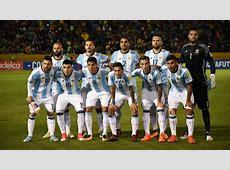 Los convocados de la selección de Argentina para el