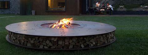 Fire Pits : Ak47 Zero Fire Pit Large 3.0m Diam. Luxury Outdoor Fire