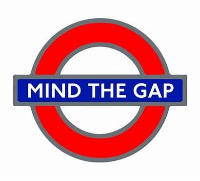 Roundel Underground London Gap Mind Signs British