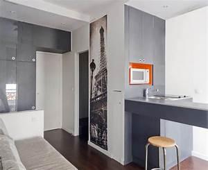 Amenager Studio 15m2 : sof architectes sof architectes ~ Melissatoandfro.com Idées de Décoration