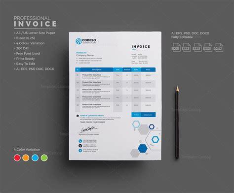 invoice template  template catalog