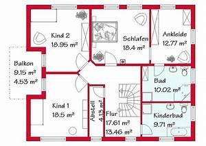 Bauen Zweifamilienhaus Grundriss : einfamilienhaus grundriss 3 kinderzimmer ~ Lizthompson.info Haus und Dekorationen