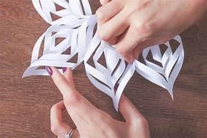 Comment Faire Une étoile En Papier : diy fabriquez des flocons de neige en papier ~ Nature-et-papiers.com Idées de Décoration