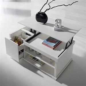 Table De Salon Modulable : table basse modulable table de salon ronde maisonjoffrois ~ Teatrodelosmanantiales.com Idées de Décoration