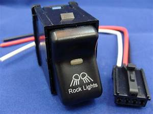 Jeep Tj Wrangler Rock Light Switch 1997