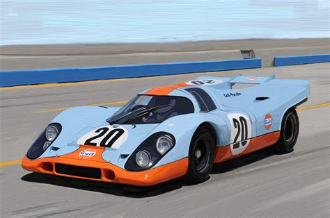 gulf racing colors the artrage motor sports series number 5 modular 4