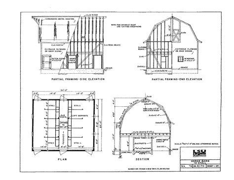 Incredible Small Barn House Plans With Metal Church