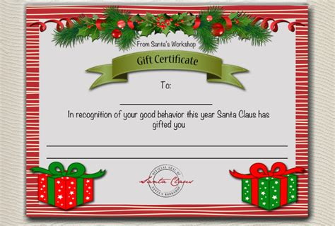 gift certificate examples psd word ai indesign