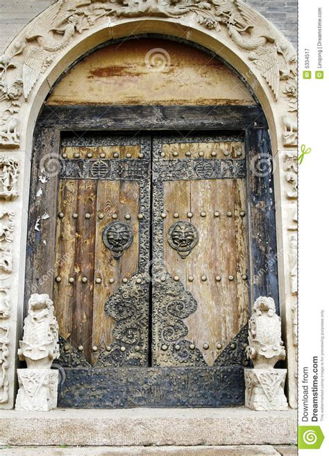 door   ancient temple royalty  stock photography