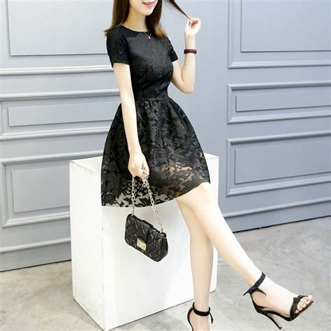 jual korea dress pendek brukat mini dress brokat di lapak terminal discovery market