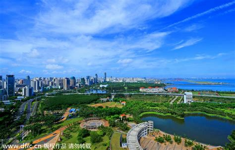 Top 10 Cities With Best Air Quality In China[1