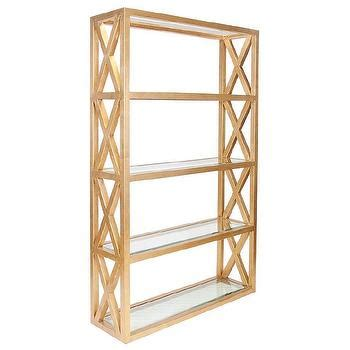 Worlds Away Etagere - bookcase look 4 less and steals and deals