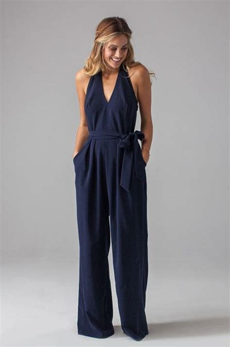 black jumpsuit for wedding the wedding trend 25 stylish bridesmaids jumpsuits