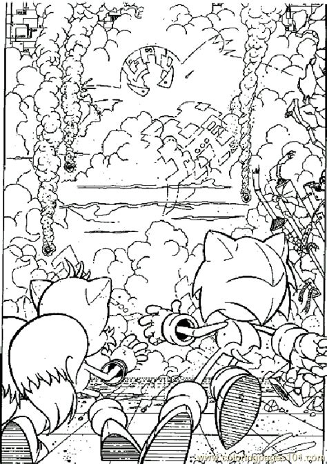 sonic  coloring page  sonic  coloring pages