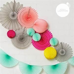 Boule En Papier : boule papier alv ol 20 cm blanche ~ Teatrodelosmanantiales.com Idées de Décoration