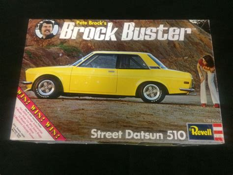 Datsun 510 Kit revell datsun 510 brock buster unassembled model