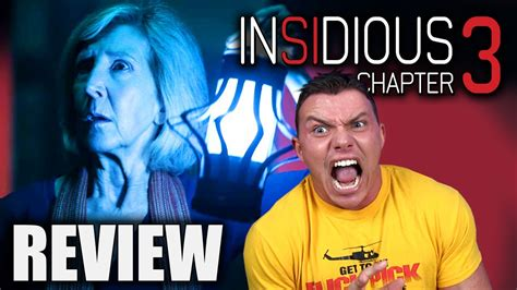 INSIDIOUS Chapter 3 - Movie Review - YouTube