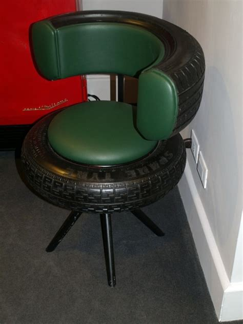 hanging chairs for 100 diy furniture from car tires tire recycling do it