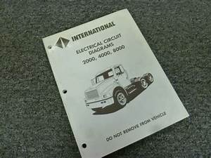 1998 International 2554 2574 2654 2674 Truck Electrical