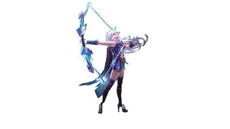 Mobile Legends Transparent Model Miya Angle 1 By B-la-ze