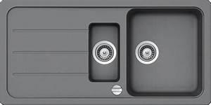 Einbauspüle Granit Günstig : schock granitsp le formhaus mit restebecken 100 x 50 ~ A.2002-acura-tl-radio.info Haus und Dekorationen