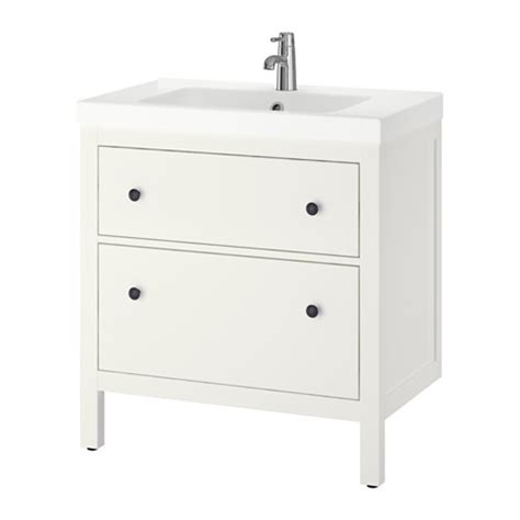 ikea hemnes cabinet white hemnes odensvik sink cabinet with 2 drawers white ikea