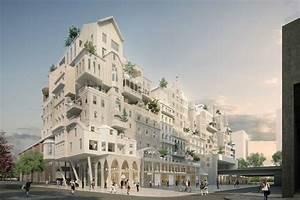 Périphériques propose cluster of affordable Parisian buildings