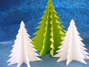 Weihnachtsbaum Basteln Aus Papier : origami zu weihnachten falten 6 ideen mit faltanleitung ~ Lizthompson.info Haus und Dekorationen