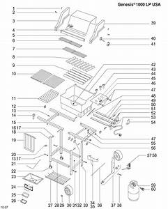 Weber Spirit E 210 Parts Diagram