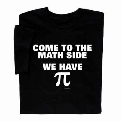 Math Side Shirt Pi Come Shirts Tshirt