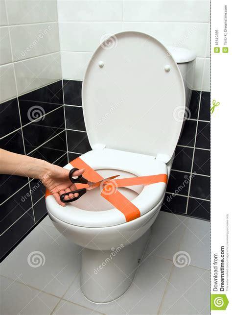 Verstopfte Toilette Problem Beseitigen by Verstopfte Toilette Stockfoto Bild Kappe Problem