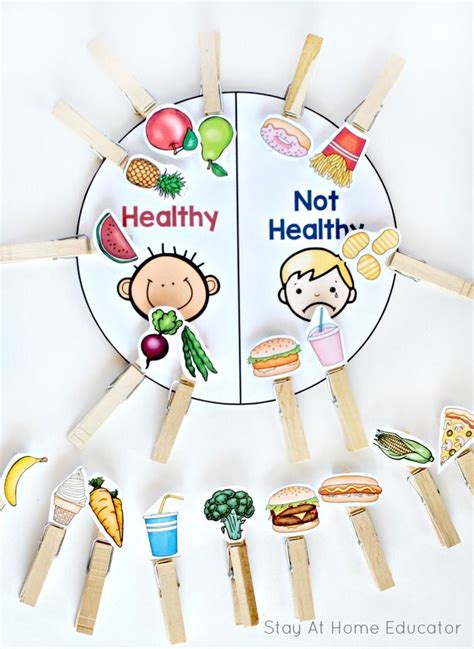 6 printable food and nutrition activities for preschoolers 592 | 5d796105e19c1193cbc5c6f5e5855eff