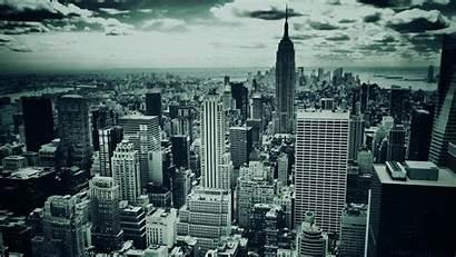 York Monochrome Cityscapes Skylines