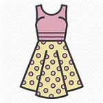 Summer Icon Shopping Dots Icons Clothing Woman