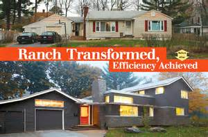 Stunning Adding A Second Story To A Ranch House Photos by Ranch Transformed Efficiency Achieved Homebuilding