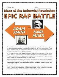 Industrial Revolution - Adam Smith and Karl Marx (Epic Rap ...
