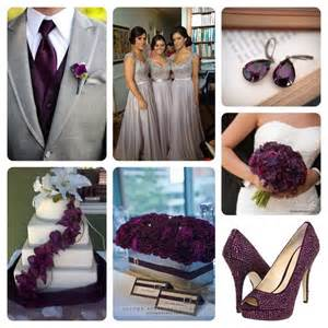 plum wedding colors best 25 grey purple wedding ideas on