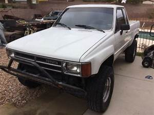 1987 Toyota Pickup 4x4 Extra Cab 22re With 5speed And A  C