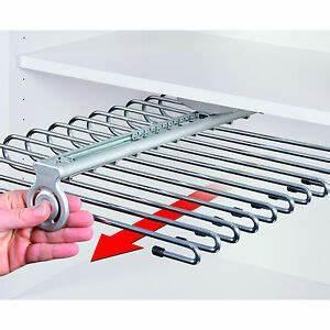 Hosenhalter Für Kleiderschrank : hosenhalter f r den kleiderschrank f r 11 hosen ebay ~ Orissabook.com Haus und Dekorationen