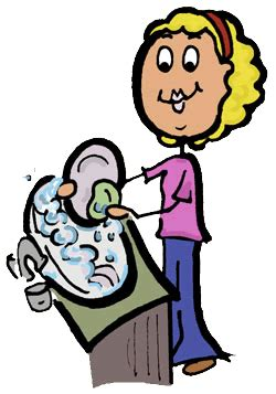 wash the dishes clipart version of stick figure washing dishes clipart