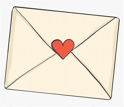 Envelope Heart Opening Letter Pngitem