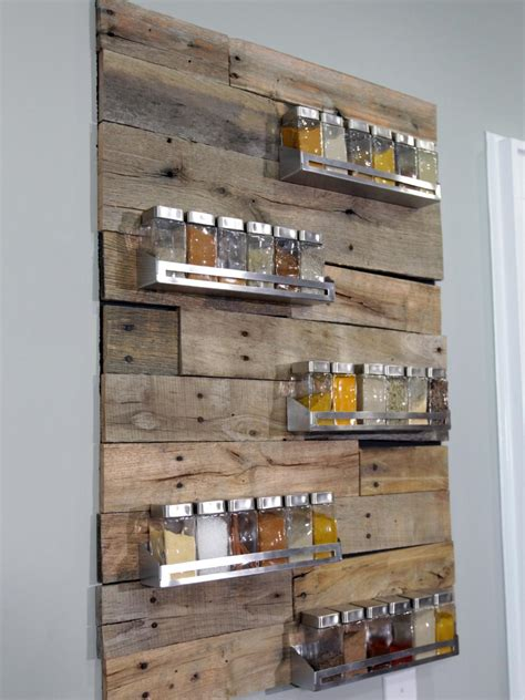 Kitchen Spice Racks by 26 Reclaimed Wood Projects That The Barnwood Builders Crew
