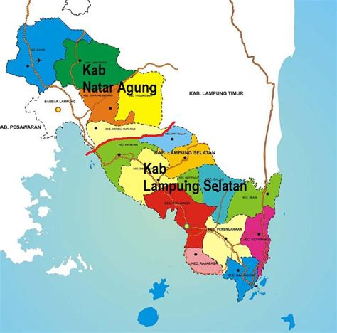 kangatepafiacom pembentukan kabupaten natar agung